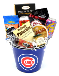 Crafty Cubs Tin from Schultz Florists, flower delivery in Chicago