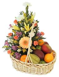 Fruit and Flower from Schultz Florists, flower delivery in Chicago