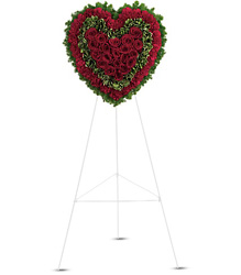Majestic Heart from Schultz Florists, flower delivery in Chicago