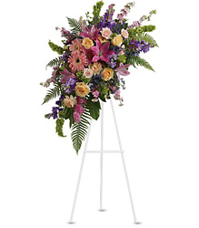 Heavenly Grace Spray from Schultz Florists, flower delivery in Chicago