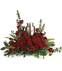 Forever In Our Hearts Cremation Tribute from Schultz Florists, flower delivery in Chicago