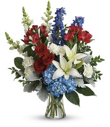 Colorful Tribute Bouquet from Schultz Florists, flower delivery in Chicago